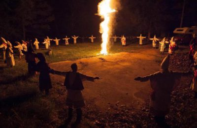 The scary return of the Ku Klux Klan